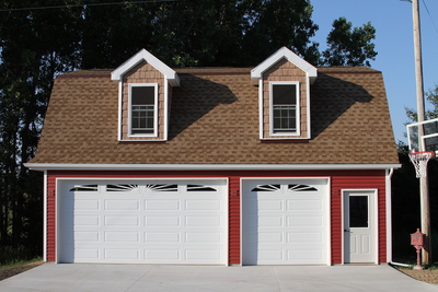 Custom Detatched Garage